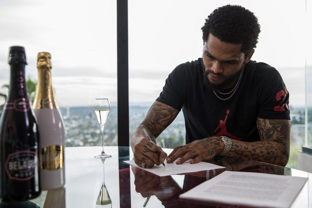 Dave East signs agreement to become Luc Belaire ambassador