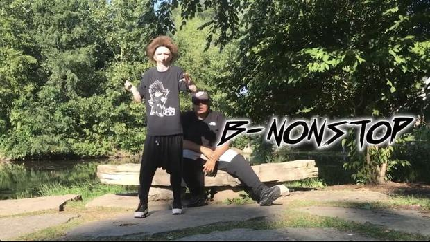 creator B-Nonstop being photographed