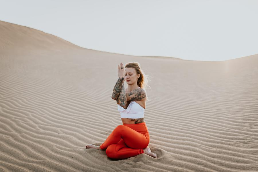 creator Jelena Lieberberg being photographed