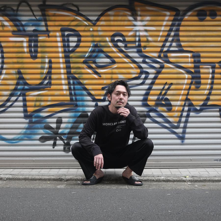 Instagram  creator Toshiyuki Niino being photographed