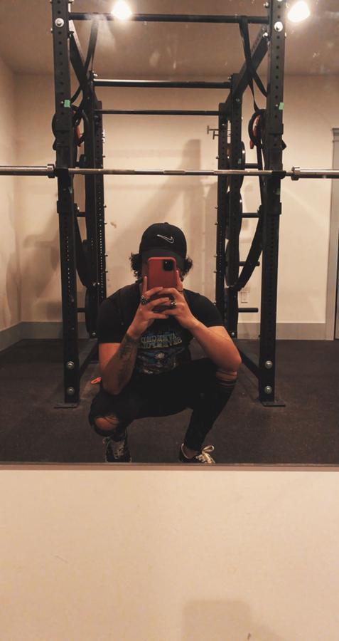 Instagram  creator Joshua Sylvain being photographed