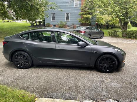 automotive creator Tesla Lifestyle being photographed
