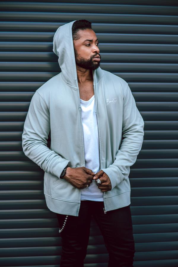 fashion creator Bijou Matumona  being photographed
