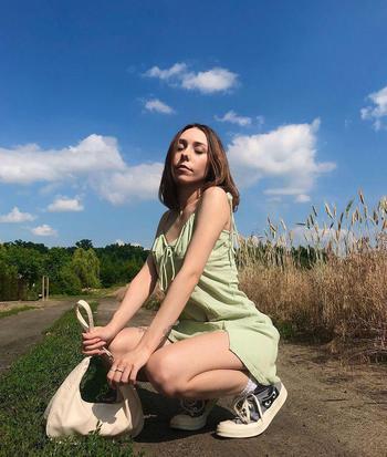 travel creator Justynaaftanska being photographed