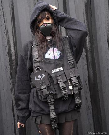 fashion creator Beefarmr being photographed
