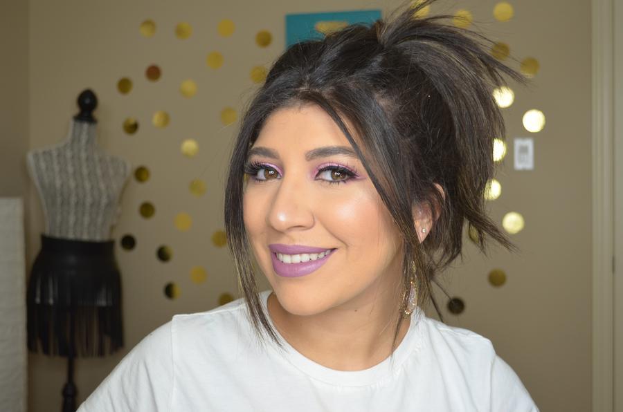 creator Mira Ibrahim being photographed